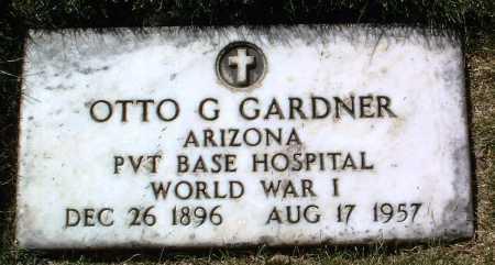 GARDNER, OTTO G. - Yavapai County, Arizona | OTTO G. GARDNER - Arizona Gravestone Photos