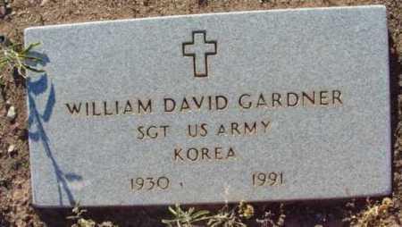 GARDNER, WILLIAM DAVID - Yavapai County, Arizona | WILLIAM DAVID GARDNER - Arizona Gravestone Photos