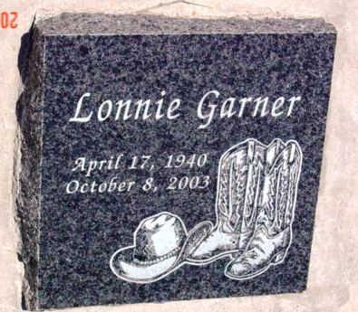 GARNER, LONNIE GARFIELD - Yavapai County, Arizona | LONNIE GARFIELD GARNER - Arizona Gravestone Photos