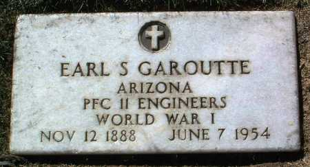 GAROUTTE, EARL SMITH - Yavapai County, Arizona   EARL SMITH GAROUTTE - Arizona Gravestone Photos