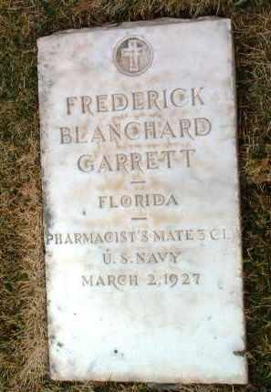 GARRETT, FREDERICK B. - Yavapai County, Arizona | FREDERICK B. GARRETT - Arizona Gravestone Photos