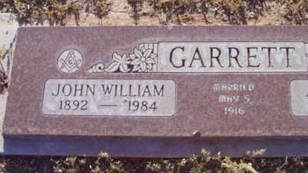 GARRETT, JOHN WILLIAM - Yavapai County, Arizona | JOHN WILLIAM GARRETT - Arizona Gravestone Photos
