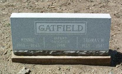 JOHNSON GATFIELD, M. - Yavapai County, Arizona | M. JOHNSON GATFIELD - Arizona Gravestone Photos