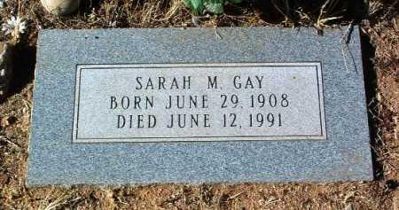 GAY, SARAH MADELINE - Yavapai County, Arizona | SARAH MADELINE GAY - Arizona Gravestone Photos