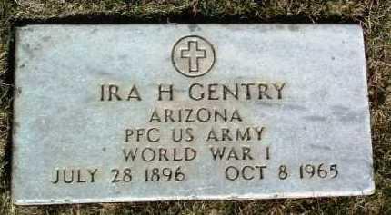 GENTRY, IRA H. - Yavapai County, Arizona   IRA H. GENTRY - Arizona Gravestone Photos