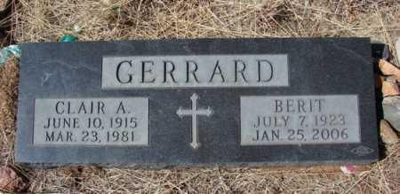 GERRARD, BERIT - Yavapai County, Arizona | BERIT GERRARD - Arizona Gravestone Photos