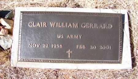 GERRARD, CLAIR WILLIAM - Yavapai County, Arizona | CLAIR WILLIAM GERRARD - Arizona Gravestone Photos