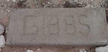 GIBBS, UNKNOWN - Yavapai County, Arizona | UNKNOWN GIBBS - Arizona Gravestone Photos