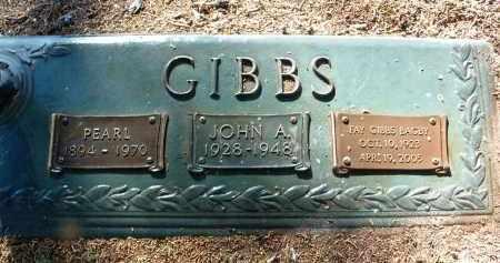 GIBBS, PEARL EMILY - Yavapai County, Arizona   PEARL EMILY GIBBS - Arizona Gravestone Photos