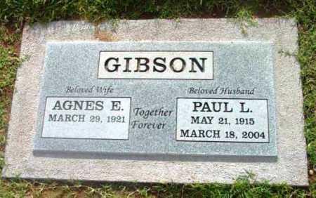 GIBSON, PAUL L. - Yavapai County, Arizona | PAUL L. GIBSON - Arizona Gravestone Photos