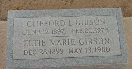 GIBSON, ELTIE MARIE - Yavapai County, Arizona | ELTIE MARIE GIBSON - Arizona Gravestone Photos