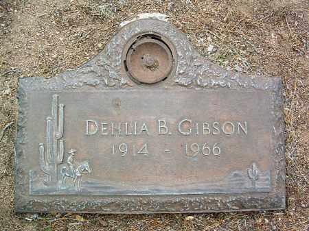 GIBSON, DEHLIA BEATRICE - Yavapai County, Arizona   DEHLIA BEATRICE GIBSON - Arizona Gravestone Photos