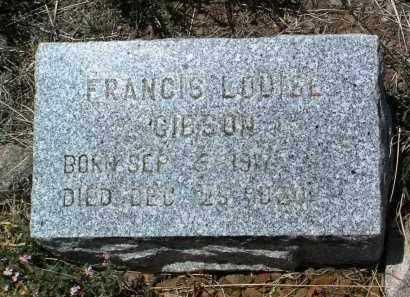 GIBSON, FRANCIS LOUISE - Yavapai County, Arizona | FRANCIS LOUISE GIBSON - Arizona Gravestone Photos