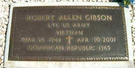 GIBSON, ROBERT ALLEN - Yavapai County, Arizona   ROBERT ALLEN GIBSON - Arizona Gravestone Photos