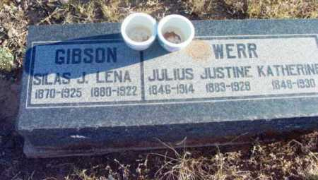 WERR, JUSTINE - Yavapai County, Arizona | JUSTINE WERR - Arizona Gravestone Photos