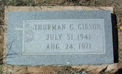 GIBSON, THURMAN GEORGE - Yavapai County, Arizona | THURMAN GEORGE GIBSON - Arizona Gravestone Photos