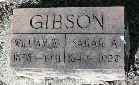 GIBSON, WILLIAM W. - Yavapai County, Arizona | WILLIAM W. GIBSON - Arizona Gravestone Photos