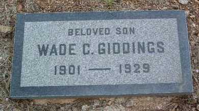 GIDDINGS, WADE CHICHESTER - Yavapai County, Arizona | WADE CHICHESTER GIDDINGS - Arizona Gravestone Photos