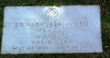 GILLESPIE, EDWARD A. - Yavapai County, Arizona   EDWARD A. GILLESPIE - Arizona Gravestone Photos