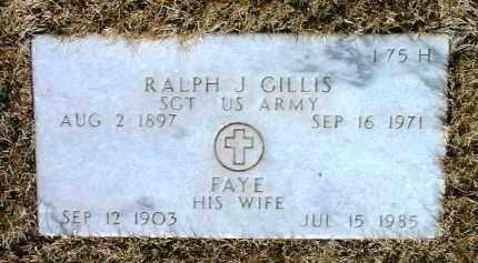 DABBS GILLIS, FANNIE FAYE - Yavapai County, Arizona | FANNIE FAYE DABBS GILLIS - Arizona Gravestone Photos