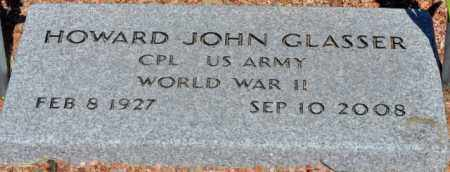 GLASSER, HOWARD JOHN - Yavapai County, Arizona | HOWARD JOHN GLASSER - Arizona Gravestone Photos