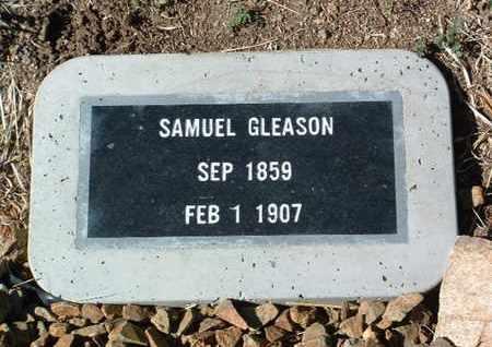 GLEASON, SAMUEL - Yavapai County, Arizona | SAMUEL GLEASON - Arizona Gravestone Photos