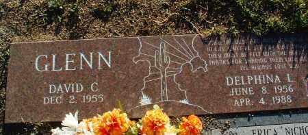 GLENN, DELPHINIA LEWAN - Yavapai County, Arizona | DELPHINIA LEWAN GLENN - Arizona Gravestone Photos
