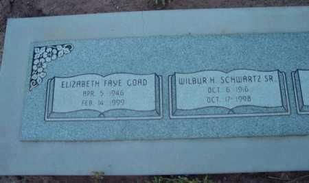 SCHWARTZ, WILBUR H., SR. - Yavapai County, Arizona | WILBUR H., SR. SCHWARTZ - Arizona Gravestone Photos
