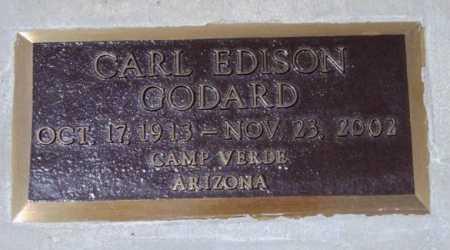 GODARD, CARL EDISON - Yavapai County, Arizona   CARL EDISON GODARD - Arizona Gravestone Photos
