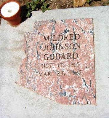 JOHNSON GODARD, M. H. - Yavapai County, Arizona | M. H. JOHNSON GODARD - Arizona Gravestone Photos