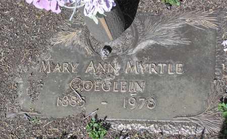 JOHNSON GOEGLEIN, MARY - Yavapai County, Arizona | MARY JOHNSON GOEGLEIN - Arizona Gravestone Photos