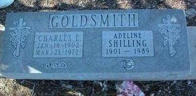 SCHULTZ - SHILLILNG GOLDSMITH, ADELINE E. - Yavapai County, Arizona   ADELINE E. SCHULTZ - SHILLILNG GOLDSMITH - Arizona Gravestone Photos