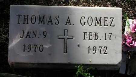 GOMEZ, THOMAS A. - Yavapai County, Arizona | THOMAS A. GOMEZ - Arizona Gravestone Photos