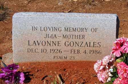 GONZALES, LAVONNE - Yavapai County, Arizona | LAVONNE GONZALES - Arizona Gravestone Photos