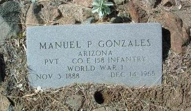 GONZALES, MANUEL PALMA - Yavapai County, Arizona | MANUEL PALMA GONZALES - Arizona Gravestone Photos