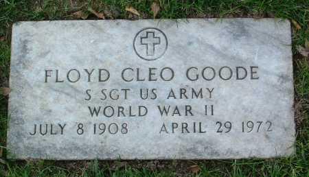 GOODE, FLOYD CLEO - Yavapai County, Arizona | FLOYD CLEO GOODE - Arizona Gravestone Photos