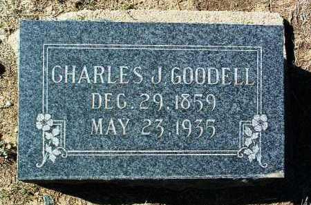 GOODELL, CHARLES JOHN - Yavapai County, Arizona | CHARLES JOHN GOODELL - Arizona Gravestone Photos