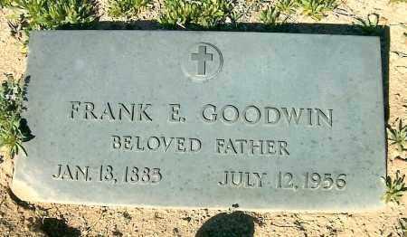 GOODWIN, FRANK EDWARD - Yavapai County, Arizona   FRANK EDWARD GOODWIN - Arizona Gravestone Photos
