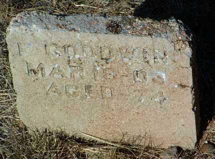 GOODWIN, F. - Yavapai County, Arizona   F. GOODWIN - Arizona Gravestone Photos