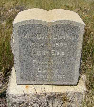 GOODWIN, ANNA - Yavapai County, Arizona | ANNA GOODWIN - Arizona Gravestone Photos
