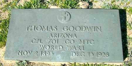 GOODWIN, THOMAS - Yavapai County, Arizona | THOMAS GOODWIN - Arizona Gravestone Photos