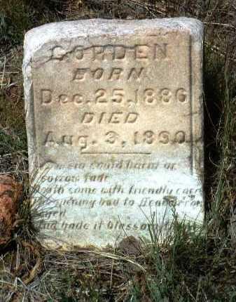 GORDEN, EMMA M. - Yavapai County, Arizona   EMMA M. GORDEN - Arizona Gravestone Photos