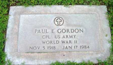 GORDON, PAUL EDGAR - Yavapai County, Arizona | PAUL EDGAR GORDON - Arizona Gravestone Photos
