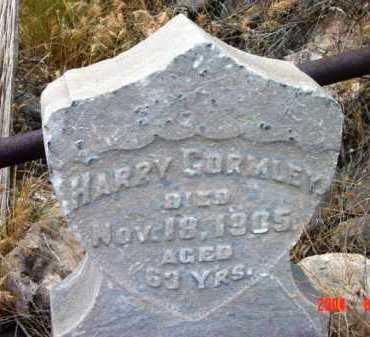 GORMLEY, HARRY - Yavapai County, Arizona | HARRY GORMLEY - Arizona Gravestone Photos