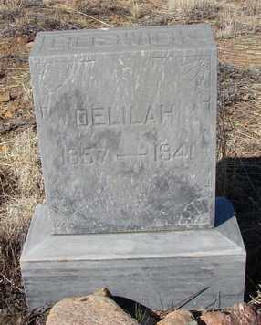 HENSEN GOSWICK, DELILAH F. - Yavapai County, Arizona | DELILAH F. HENSEN GOSWICK - Arizona Gravestone Photos