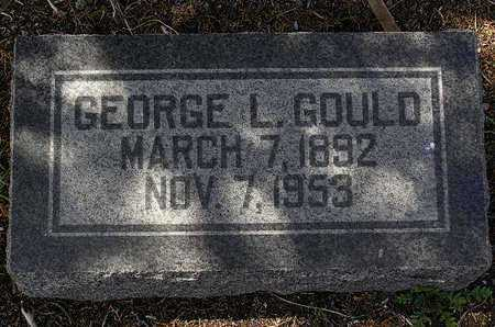 GOULD, GEORGE L. - Yavapai County, Arizona | GEORGE L. GOULD - Arizona Gravestone Photos