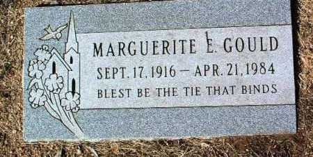 GOULD, MARGUERITE E. - Yavapai County, Arizona | MARGUERITE E. GOULD - Arizona Gravestone Photos