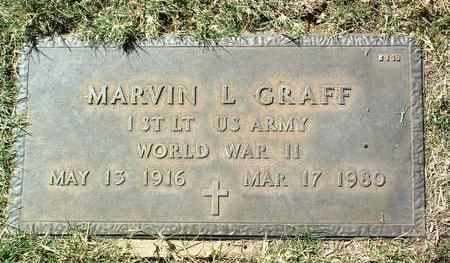 GRAFF, MARVIN L. - Yavapai County, Arizona | MARVIN L. GRAFF - Arizona Gravestone Photos