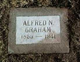 GRAHAM, ALFRED N. - Yavapai County, Arizona   ALFRED N. GRAHAM - Arizona Gravestone Photos