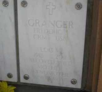GRANGER, LOIS V. - Yavapai County, Arizona | LOIS V. GRANGER - Arizona Gravestone Photos